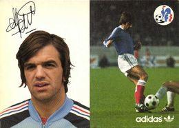 Autographe Petit Jean   Equipe De France  Football Adidas RV - Soccer