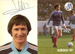 Autographe Specht Léonard  Equipe De France  Football Adidas RV - Soccer