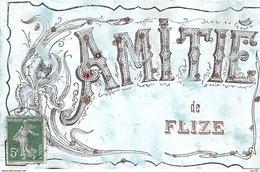08 .n° 109498 . Flize . Amitie Du Village . - Autres Communes