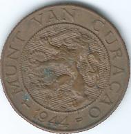 Curaçao - 1944 D - 2½ Cents - KM42 - Denver Mint - Curaçao