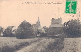 78 - MAUREPAS / LA VIEILLE TOUR ET L'EGLISE - Maurepas