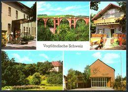 D6706 - TOP Jocketa Vogtländische Schweiz Erich Weinert Oberschule HO Gaststätte - Bild Und Heimat Reichenbach - Vogtland