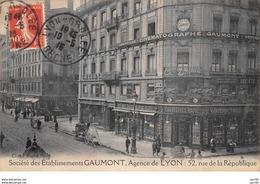 69002.n°56232.lyon.société Des Etablissement Gaumont.cinéma. 52 Rue De La République - Lyon