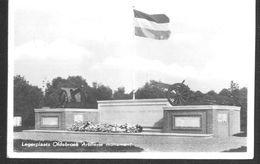 Nederland Holland Pays Bas Oldebroek Legerplaats Monument Militair - Netherlands