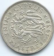 Cyprus - George VI - 1938 - 9 Piastres - KM25 - Cyprus