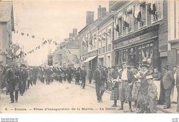 27.n°56922.ecouis.fêtes D'inauguration De La Marie.le Défilé - Francia