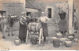 Agriculture - N°64246 - Ferme - Scène De La Vie Normande - Servantes Faisant Le Beurre - Bauernhöfe
