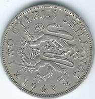 Cyprus - George VI - 1949 - 2 Shillings - KM32 - Cipro