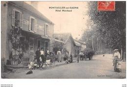 21 . N° 48075 . Pontailler Sur Saone . Hotel Marchand . Etat - Altri Comuni