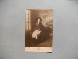 """PARIS  -  Salon 1916  -  """"  Espoir """"  De A.MERCIE  -  Peintures -  Tableaux - Ausstellungen"""