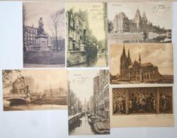 Lot De 7 CPA- Holland- Amsterdam- Grimnesseslivs- Achterburgwal- Het- Rijksnuseum- Willemspark - Unclassified