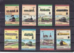 NUI : TUVALU - N°85/100  (1987) Locomotives / Railways MNH** - Treni