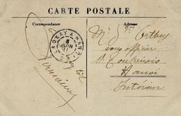 1911- C P A Tonkin - Frontière Du Yunnam,jeune Femme Méo  Avec Cad Ambulant LAOKAY A HANOÏ   2 ° - Lettres & Documents