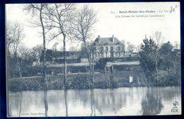 Cpa Du 35 Saint Méloir Des Ondes Le Val - Ce Château Fut Habité Par Lamennais  AVR20-133 - Autres Communes