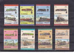 NUI : TUVALU - N°107/122  (1988) Locomotives / Railways MNH** - Treni
