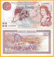 Isle Of Man 20 Pounds P-47 ND 2007 UNC Banknote - [ 4] Isle Of Man / Channel Island