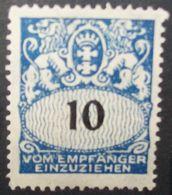 N°2335H BRIEFMARKE DEUTSCHES REICH DANZIG NEU MIT FALZ SPUREN - Dantzig