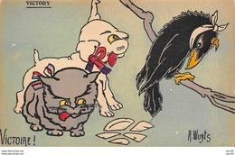 Llustrateur - N°60266 - Wuyts - Victoire - Chat, Chien Et Corbeau - Wuyts