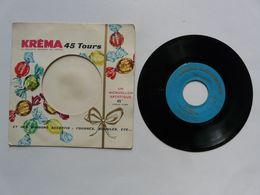 PUBLICITE - MICROSILLON 45 TOURS : Discothèque KREMA HOLLYWOOD - 45 Rpm - Maxi-Single
