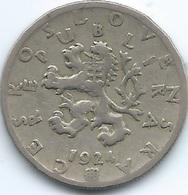 Czechoslovakia - 1924 - 50 Haléru - KM2 - Czechoslovakia