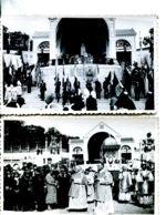 N°78962 -2 Cartes Photos à Identifier -cérémonie Religieuse En Basse Normandie - Postcards