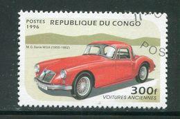 CONGO- Y&T N°1026D- Oblitéré (voitures) - Oblitérés