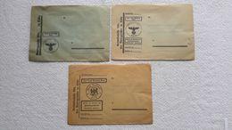 3 X Briefumschlag Amtsgericht Köln 2 WK Brief Umschlag - 1939-45