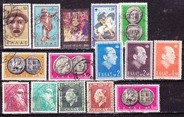 Selezione   Grecia   Usati - Lots & Kiloware (mixtures) - Max. 999 Stamps