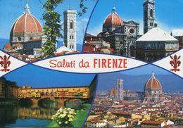 Italia - Saluti Da Firenze (viaggiata 2003) - Gruss Aus.../ Gruesse Aus...