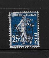 Perfore , Perfin France Semeuse Nr 140 , Perfo  A.C. - Aubert Et Cie Paris, Ind. 8 - France
