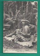 OCEANIE -TAHITI - VAIAHU - VAHINE - TAHITIENNE - NATIVE GIRL - Tahiti