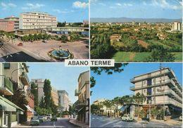 Italia - Saluti Da Abano Terme (viaggiata 196?) - Gruss Aus.../ Gruesse Aus...