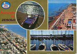 Italia - Saluti Da Jesolo (viaggiata 1974) - Gruss Aus.../ Gruesse Aus...
