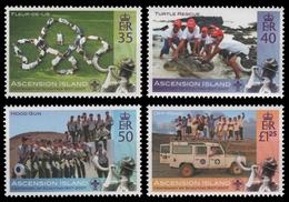 Ascension 2007 - Mi-Nr. 1005-1008 ** - MNH - Pfadfinder / Scouts - Ascension (Ile De L')