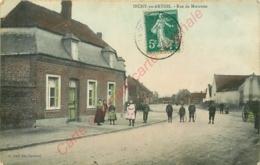 62.  INCHY EN ARTOIS .  Rue De Moeuvres .  CPA Animée . - France
