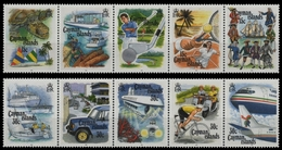 Kaiman-Inseln 1993 - Mi-Nr. 680-689 ** - MNH - Transport - Timbres