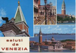 Italia - Saluti Da Venezia (viaggiata 1977) - Gruss Aus.../ Gruesse Aus...