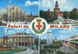 Italia - Saluti Da Milano - Gruss Aus.../ Gruesse Aus...
