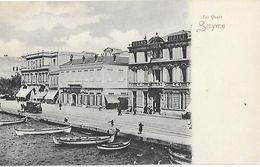 Turquie Turkey - Izmir Smyrne - Les Quais (Grand Hotel Huck) - Turkey