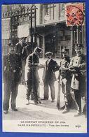 CP PARIS GARE AUSTERLITZ WW1 VISA DES LIVRETS TIMBRE SURCHARGE CROIX ROUGE ELD - Guerre 1914-18