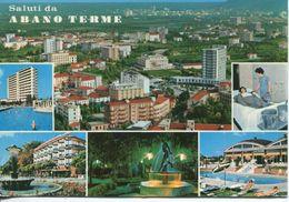 Italia - Saluti Da Abano Terme (viaggiata 1970) - Gruss Aus.../ Gruesse Aus...