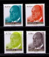 ESPAÑA 2013 - SERIE BASICA DEL REY D. JUAN CARLOS - EDIFIL Nº 4772-4775 - YVERT Nº 4459-4462 - 1931-Today: 2nd Rep - ... Juan Carlos I