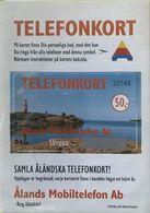 ALAND  -  Holder  - Prepaid  -  Telefonkort  -  Alands Mobiltelefon Ab  -  Skrapa  -  50,- - Aland