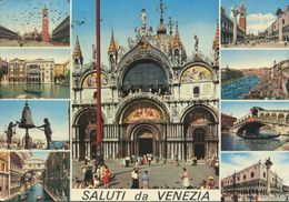 Italia - Saluti Da Venezia (viaggiata 1975) - Gruss Aus.../ Gruesse Aus...