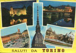 Italia - Saluti Da Torino (viaggiata 1965) - Gruss Aus.../ Gruesse Aus...