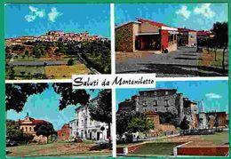Ct - 1657 - Saluti Da Montemiletto - Avellino