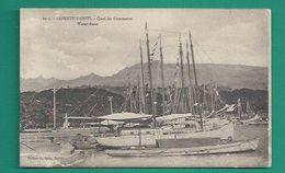 OCEANIE -TAHITI - PAPEETE - QUAI DU COMMERCE - WATER FRONT - BATEAUX - BOATS - Tahiti