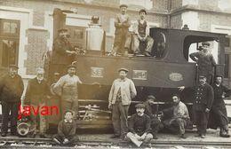 PHOTO:  BLOIS:  La Gare Saint-Lazare Et Le Train Ligne Blois-Oucques,  Photo D'une Ancienne Carte Postale, 2 Scans - Trains
