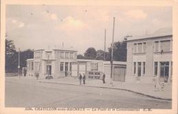 92 - CHATILLON SOUS BAGNEUX / LA POSTE ET LE COMMISSARIAT - Châtillon