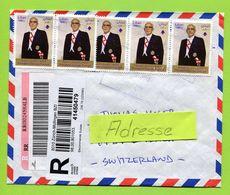 Libanon, Liban,  2012,  Registered To Switzerland - Libano